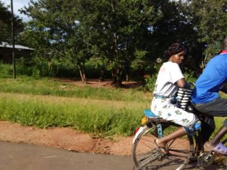 Bicycling in Salima, Malawi. Photo Courtesy, Sarah Nieuwoudt