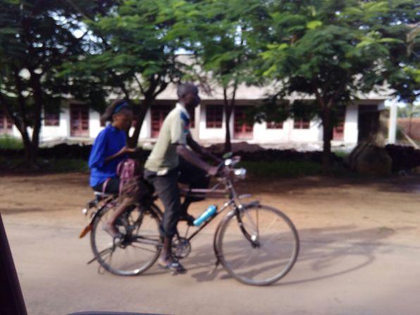 Bicycling in Salima, Malawi. Photo Courtesy, Sarah Nieuwoudt