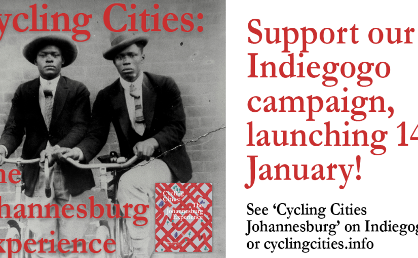 Crowdfunding: Cycling Cities, the Johannesburg Experience